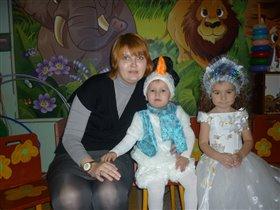 со мной и одногруппницей