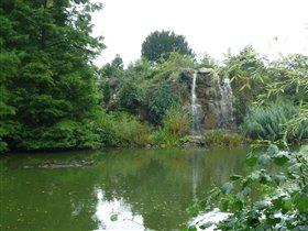 пальменгартен водопад