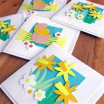 Идеи самодельных открыток к Пасхе