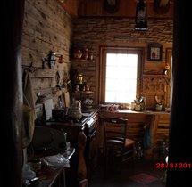 Кухня. Вид из прихожей