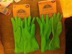 сравнения размера перчаток Мка и Лка