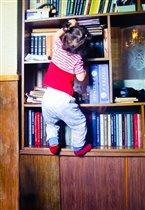 Настоящий книголюб!!!