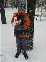 сноубластер с Ромкой :)