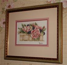 Lanarte 11101A A basket full of roses