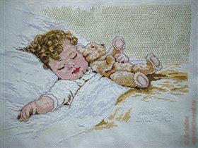 Спящий малыш (закончено)