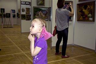 выставка современных художников в ЦДХ на Крымском