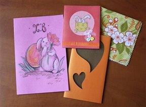Пасхальная открытка от Aliola