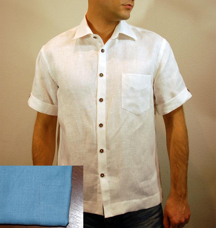 820843e5a8c Льняные рубашки мужские - скоро лето !!! - льняные рубашки мужские фото