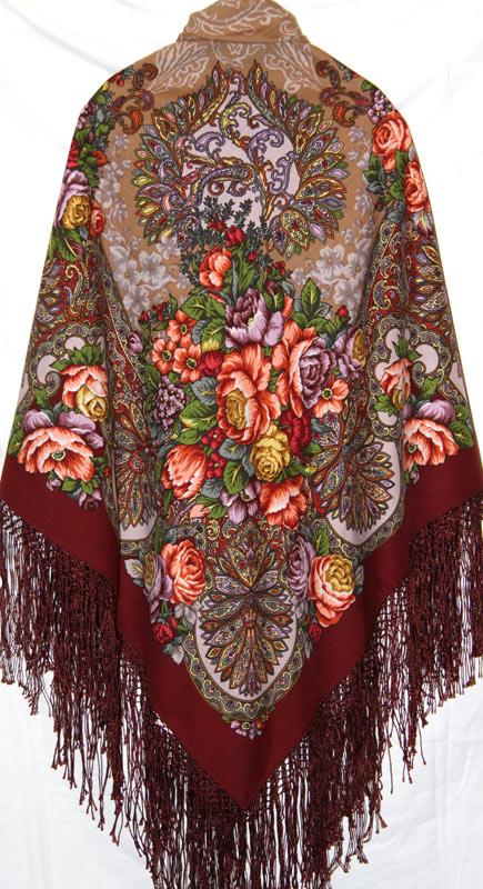 d74391b79479 Павлово Посадские Шали...новые - павловопосадские платки официальный ...