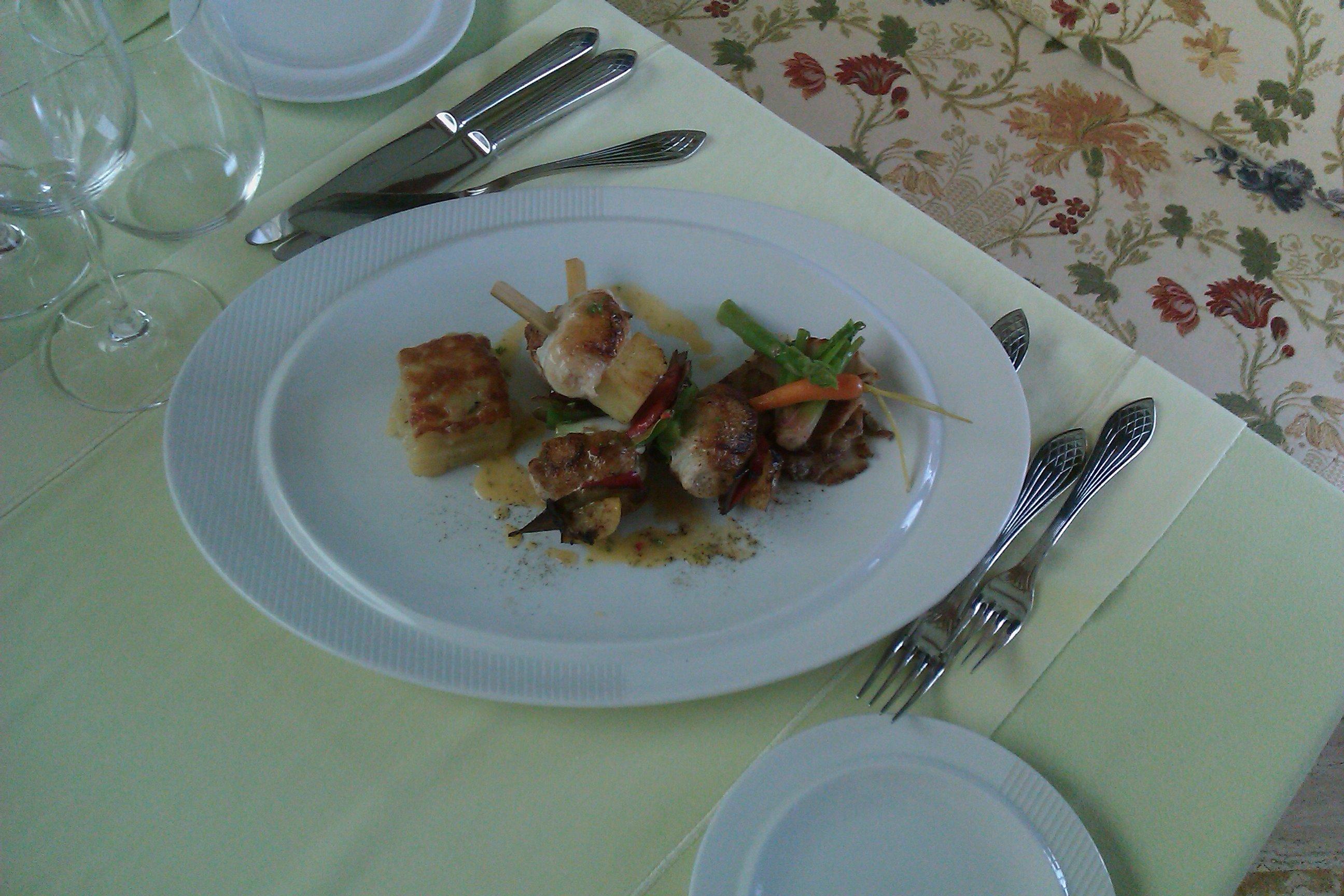 Шашлык из мяса рыбы-Иглы