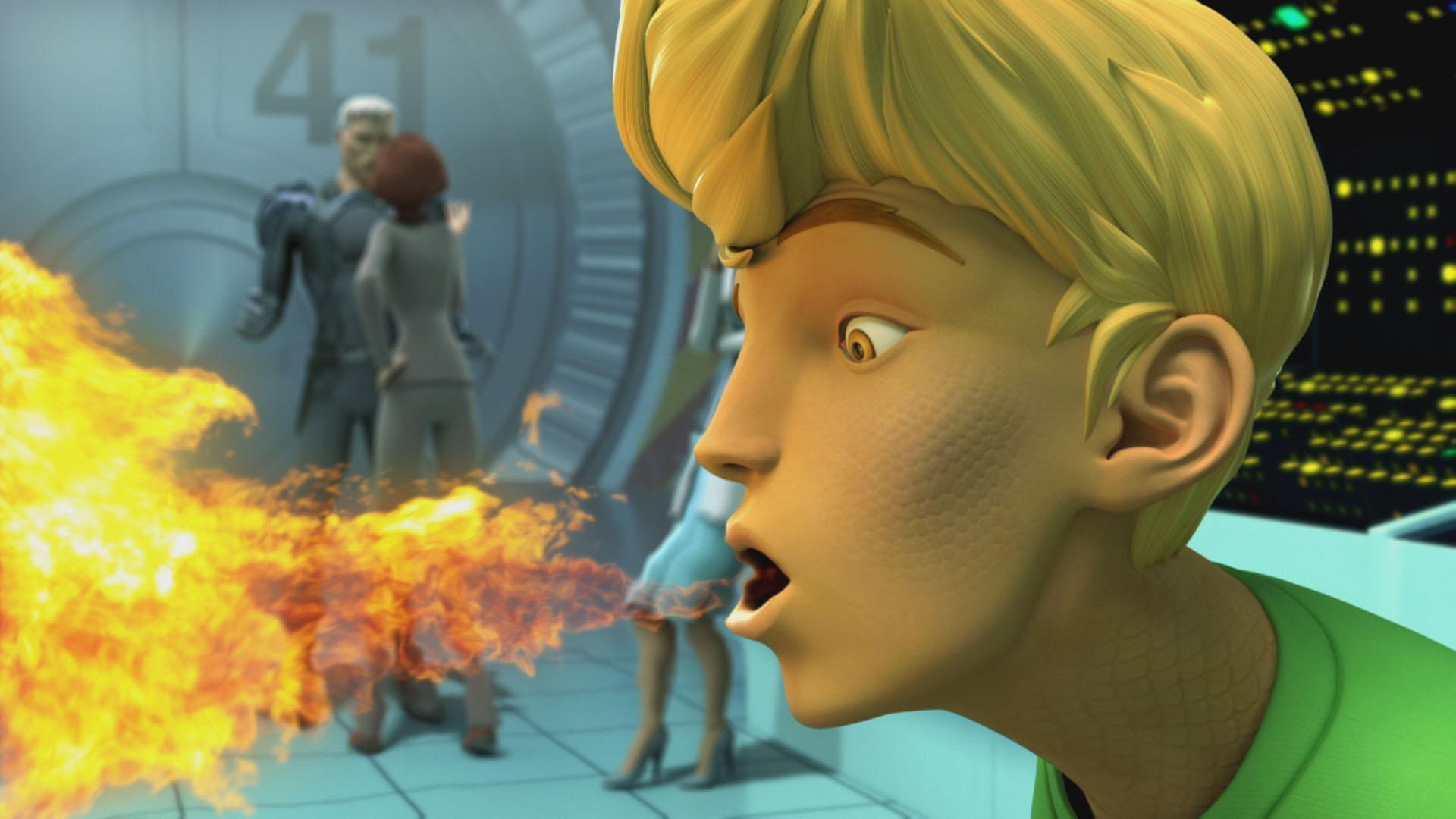 'Огнедышащий' - анимационный фильм на Cartoon Network
