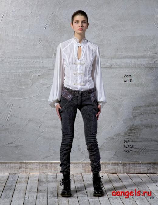 6a4f10a00fd Белая блузка с широкими рукавами на XS - белая блузка с широкими ...
