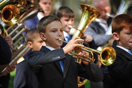 фестиваль детских и юношеских духовых оркестров