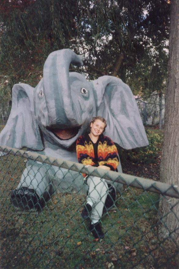 Мы со слоником. Мои любимые