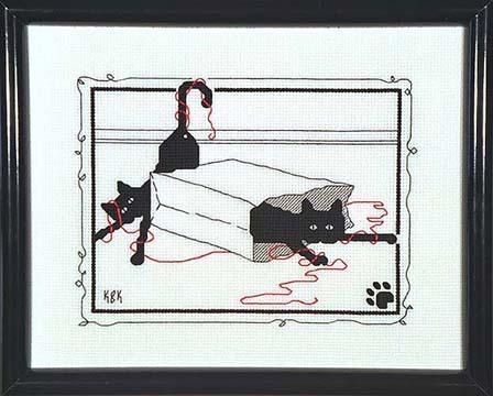 028. 028 - Paperbag kats
