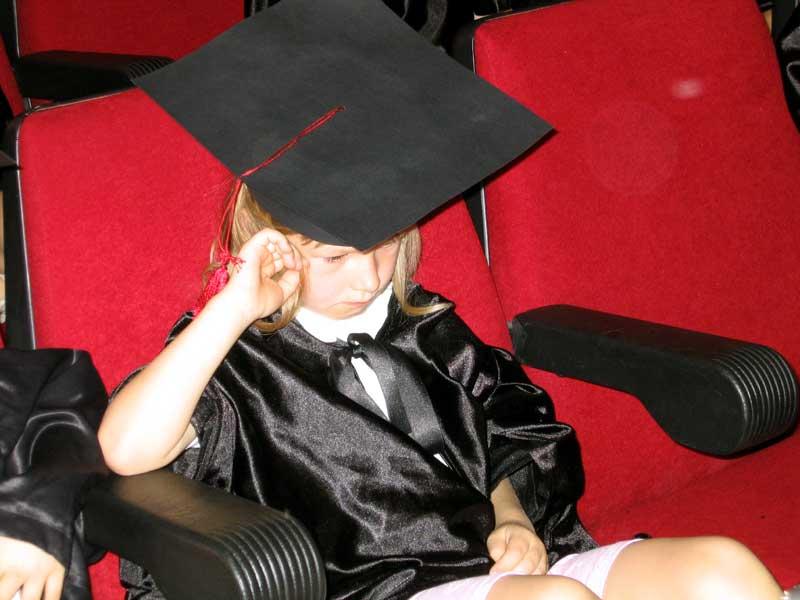 Наш первый школьный выпускной. Школьные годы чудесные...