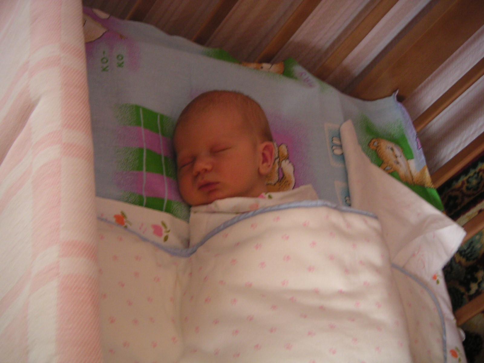 Сон ангелочка.