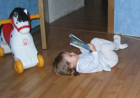 Полежим, почитаем.... Как хорошо уметь читать!..