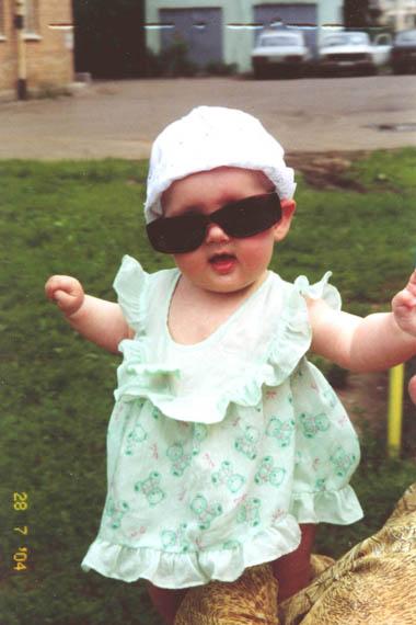 Маленькая принцесса Агента 007 :). Маленькая принцесса