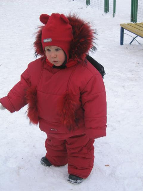 Я мороза не боюсь. Не боимся мы мороза!