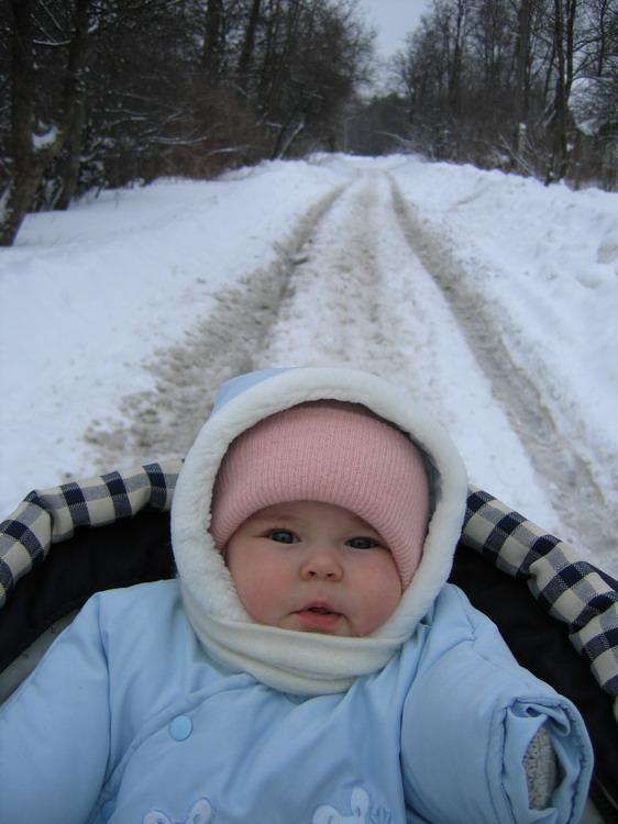 Эх, дороооги..... Не боимся мы мороза!