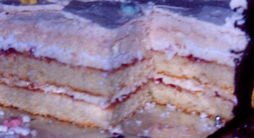 Разрез сундука. Мои торты