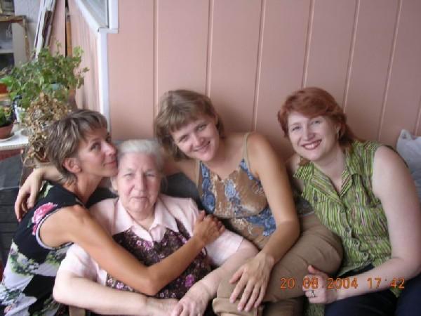Такие взрослые внучки.... Победители Внучата