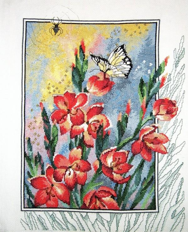 Permin -Butterfly Feeding . МОИ РАБОТЫ (MY WORKS)