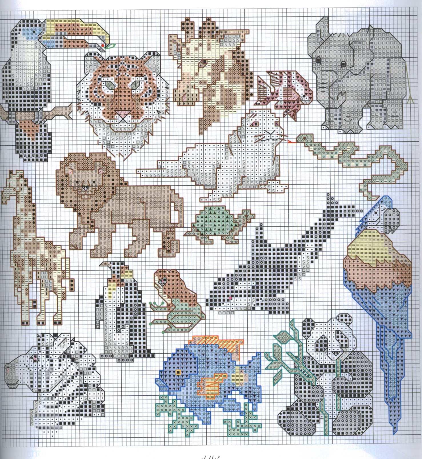 Животные и схемы 16