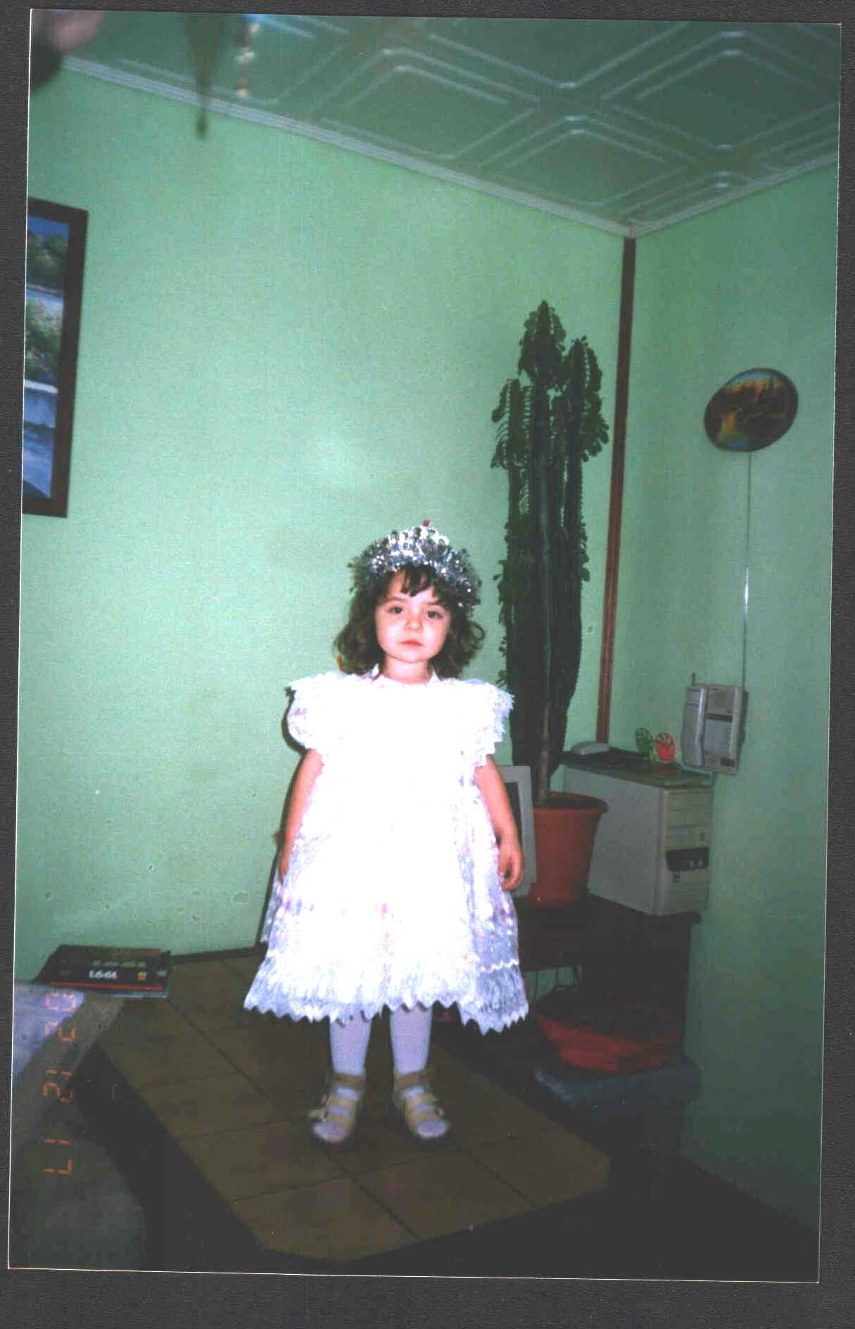 На первый бал. Маленькая принцесса