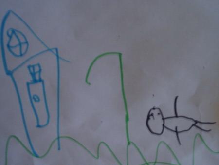Петькин рисунок. Конкурс детского рисунка с ВООБРАЖАЛКИНЫМ