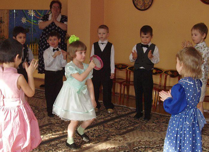 В ритме танца. Дети и музыка
