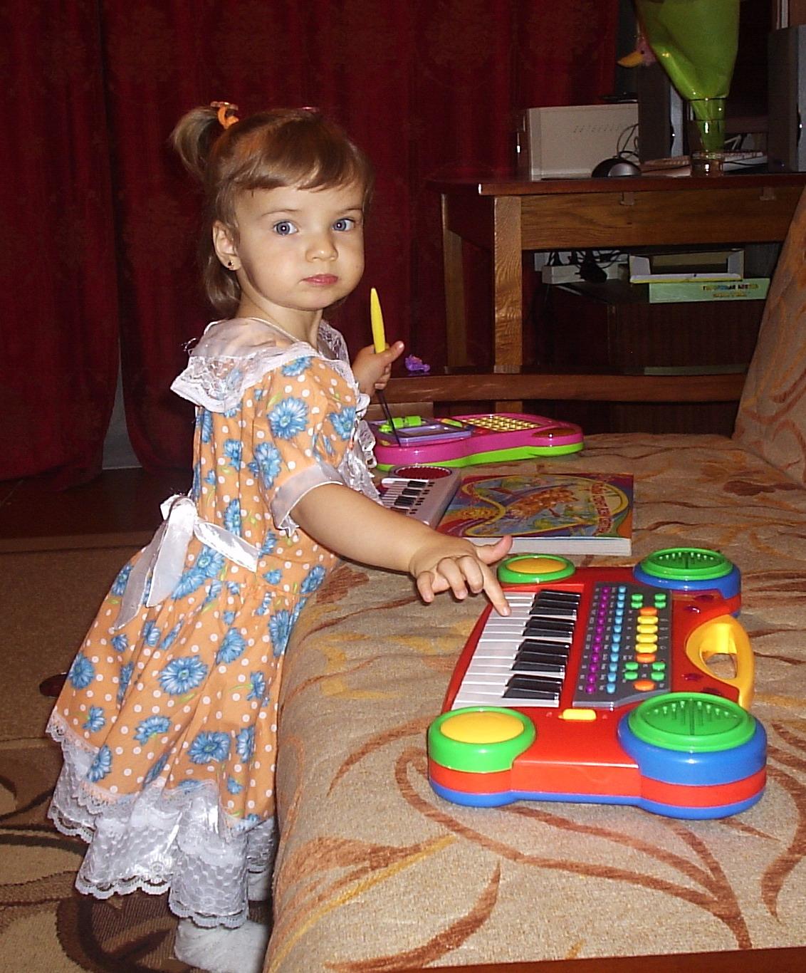 Я талант!. Дети и музыка