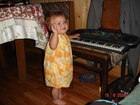 За роялем ...... Дети и музыка