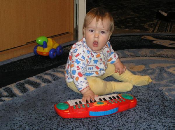 Щас сыграю и спою. Дети и музыка
