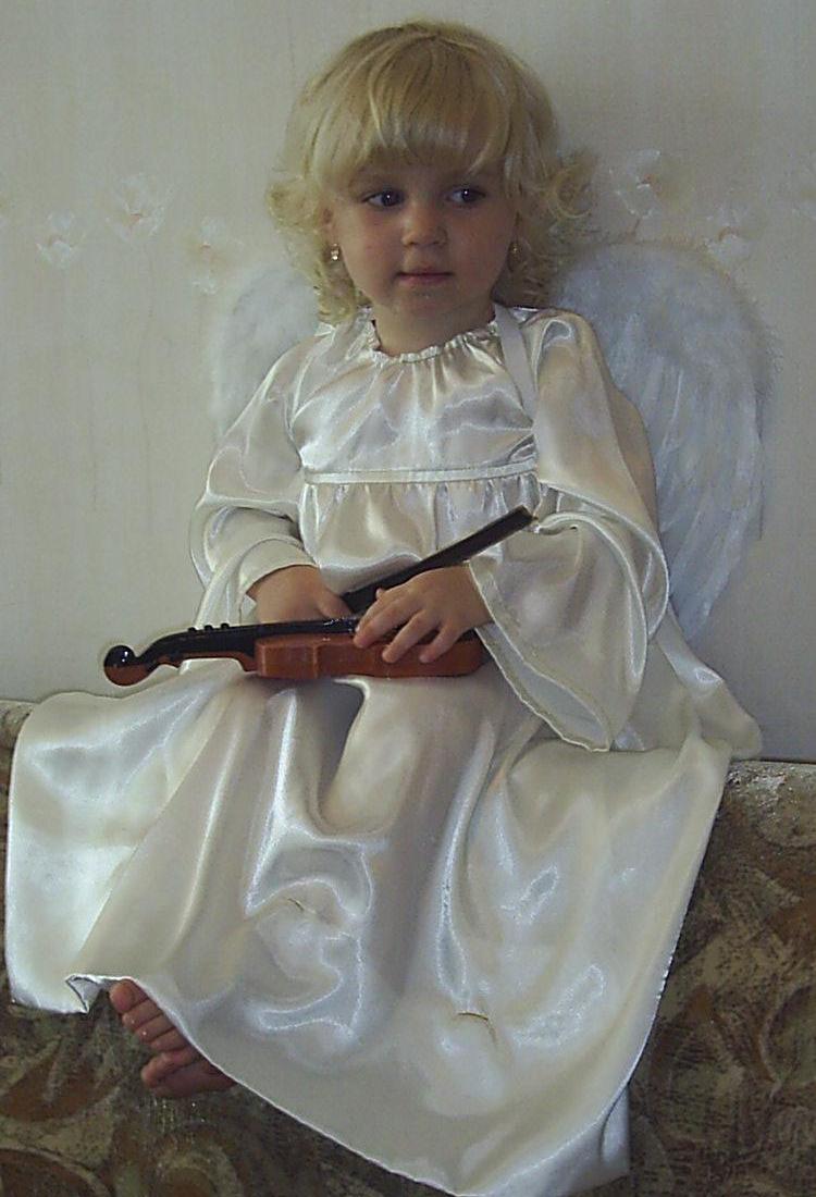 Ангел и скрипка.. Дети и музыка