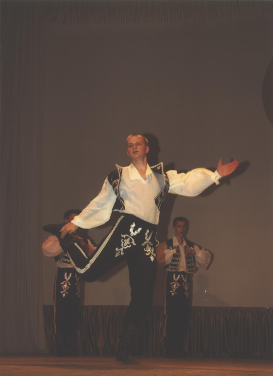 Венгерский танец 'Пантозоо'. Дети и музыка