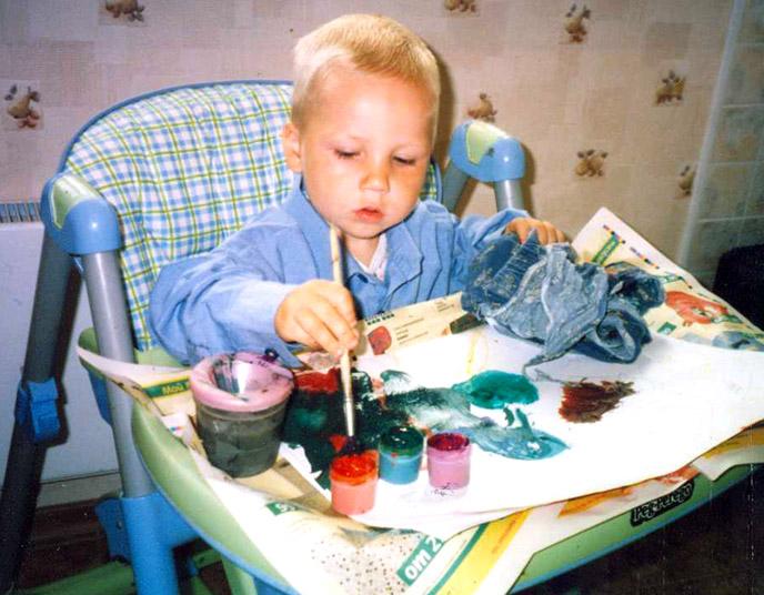 Окунаем кисточку и живописим.... Живописцы, окуните ваши кисти!