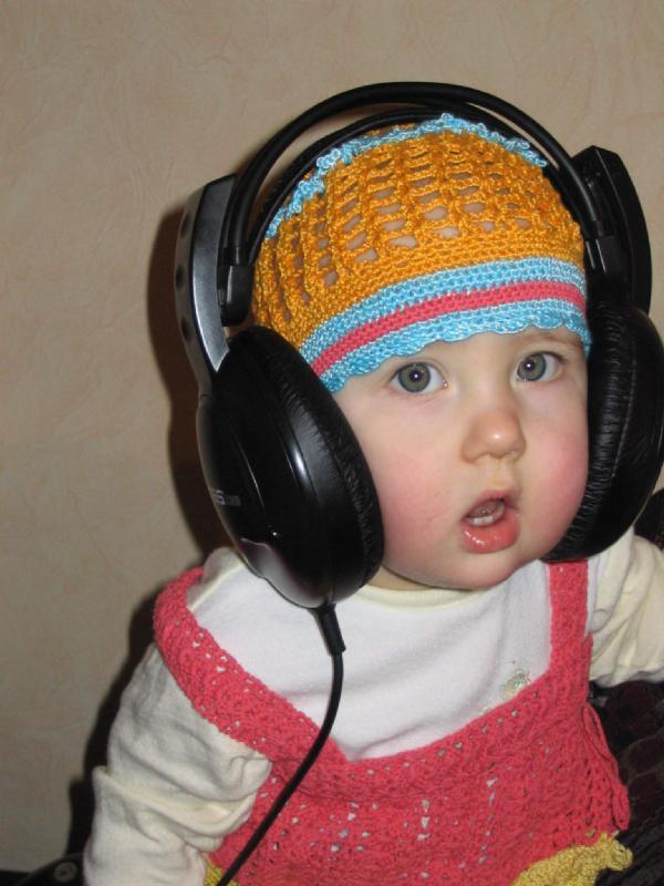 Юная DJ. Дети и музыка