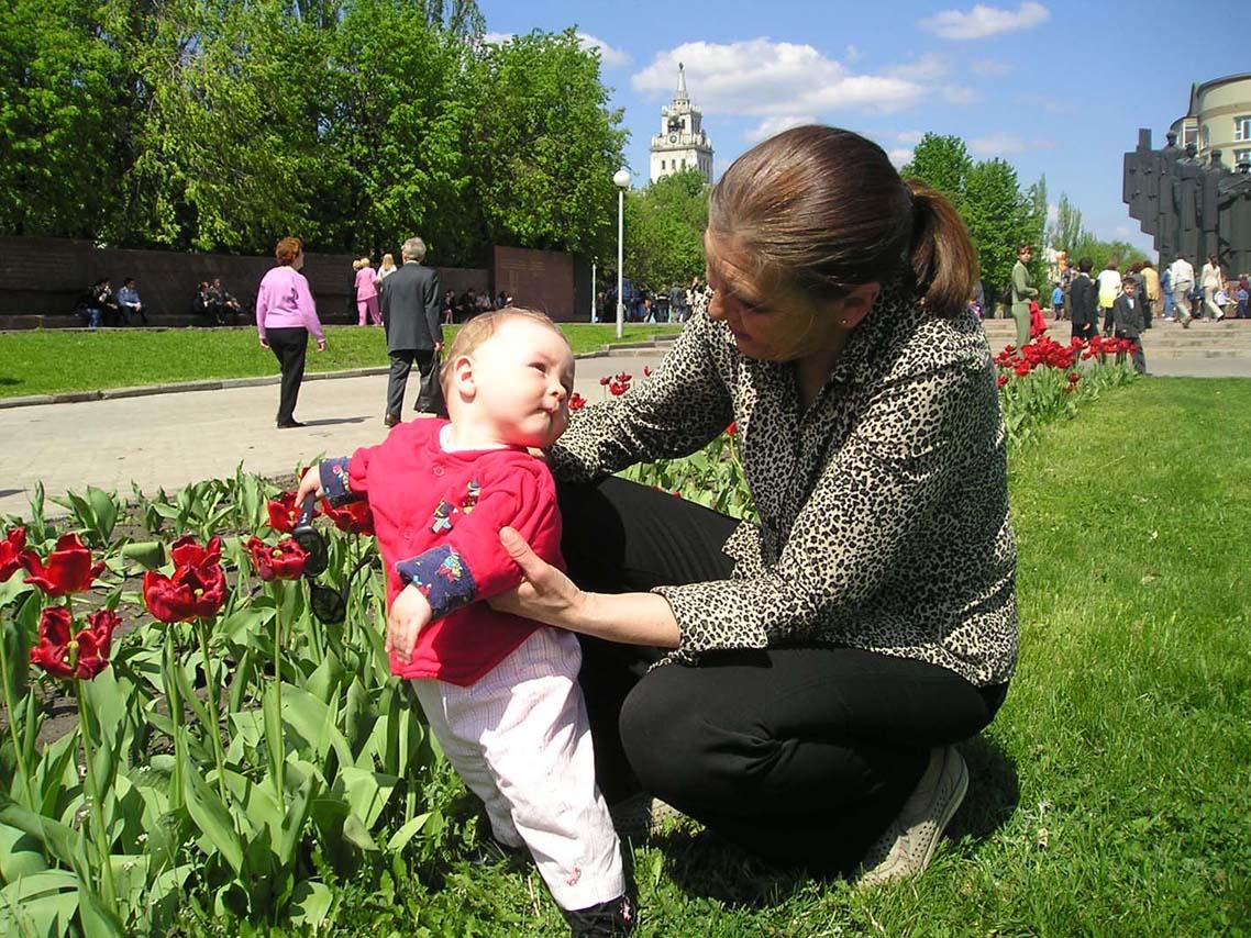 Цветы для бабули. Слова - не единственный способ общения