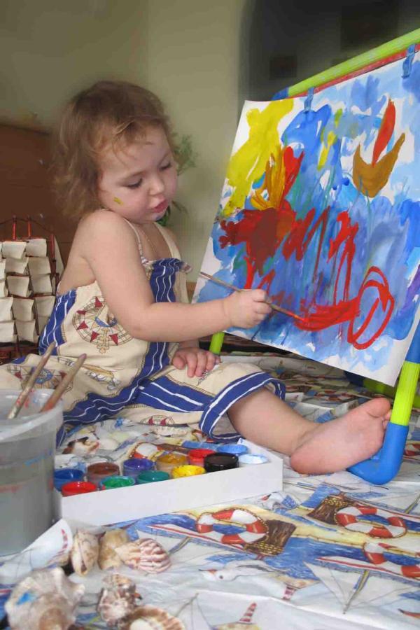 Я рисую свою мечту. Живописцы, окуните ваши кисти!