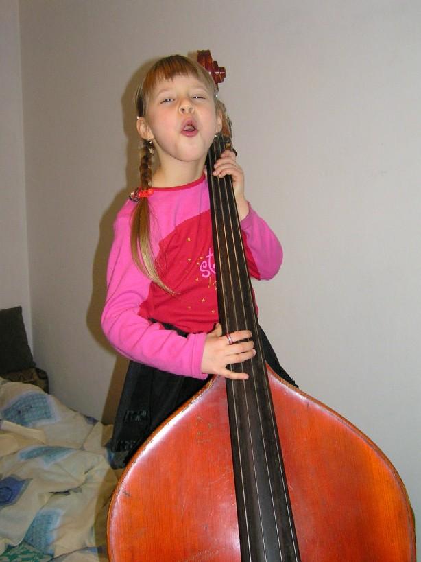 В джазе только Евочка. Дети и музыка