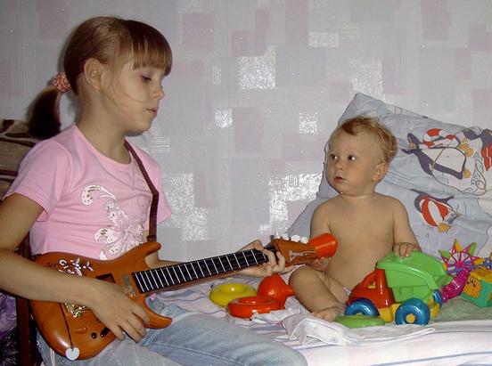 А не спеть ли мне песню?. Дети и музыка