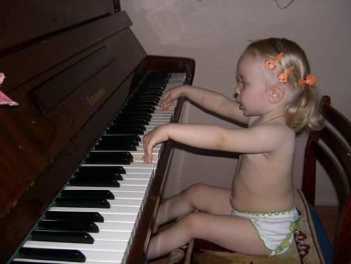 Вот как я могу!. Дети и музыка