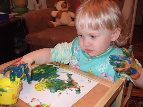 Это я рисую!. Живописцы, окуните ваши кисти!