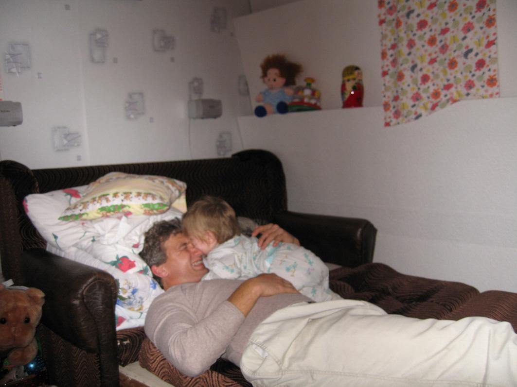 страстные Дашкины поцелуи перед сном!!!. Слова - не единственный способ общения