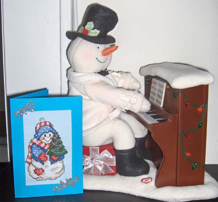 104 - от ladymelody для Катеньки. Открыточки к Новому 2007 году