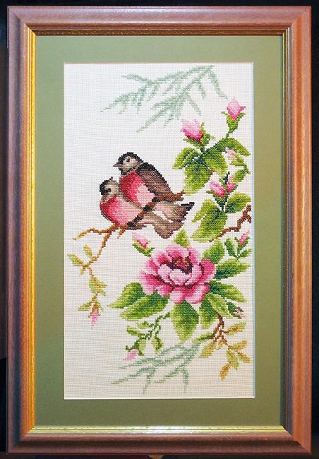 Весенний этюд. Конкурс вышитых работ Матушка-Весна