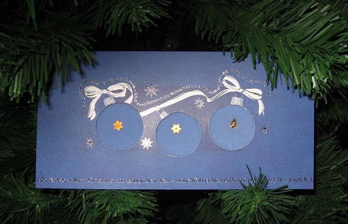 144 - от  Christmas Cat для Горе от ума. Открыточки к Новому 2007 году