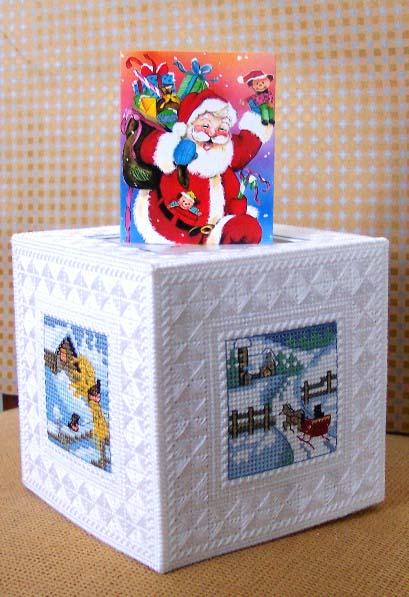 156 от Июльки для Christmas Cat . Открыточки к Новому 2007 году